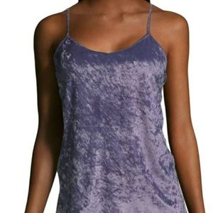 😀 3 for $20 NWT City Streets Violet velvet Tank